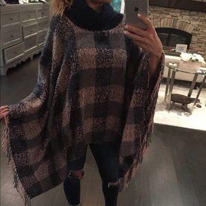 Jackets & Blazers - Check Pashmina